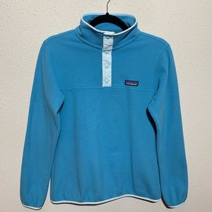 PATAGONIA Womens Small micro SnapT Fleece Pullover